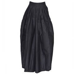 Yves Sain Laurent    Tom Ford  Collection YSL  Long Silk Skirt