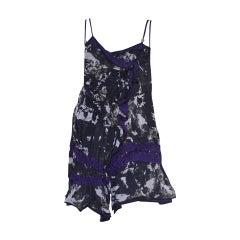 Balenciaga Silk Babydoll Top, 2007