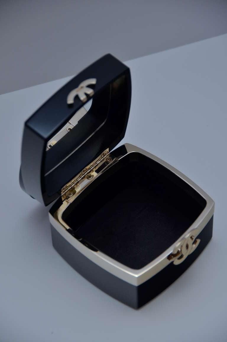 "Chanel Rare Lucite Mini Handbag 04' Collection As Seen In ""DEVIL WEARS PRADA"" 5"