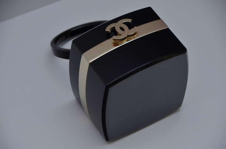 "Chanel Rare Lucite Mini Handbag 04' Collection As Seen In ""DEVIL WEARS PRADA"" 3"