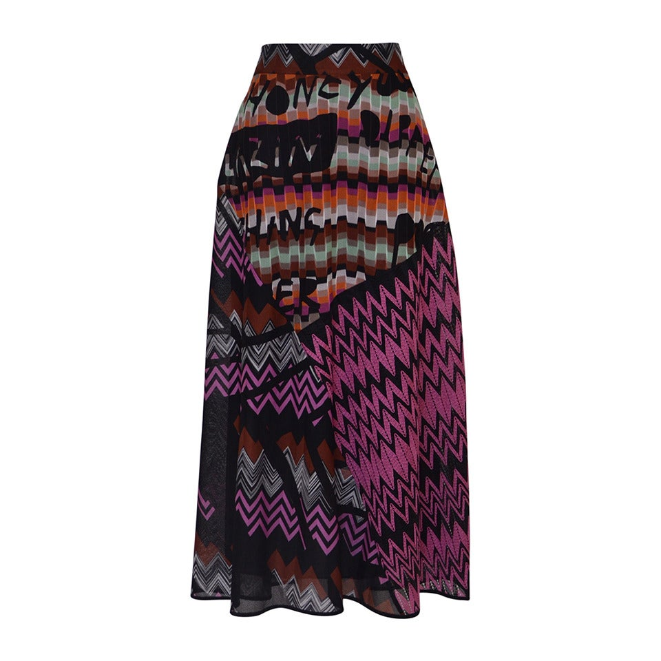 Missoni Skirt New  Size 42