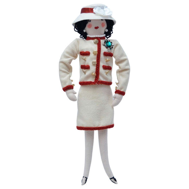 Karl Lagerfeld Coco Mademoiselle Chanel doll, 2010, offered by Haute Koture