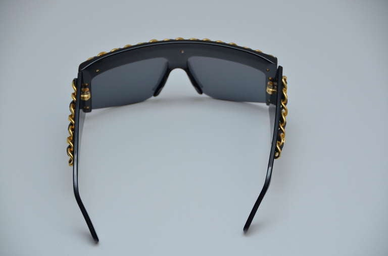 Chanel Vintage Mint Condition Sunglasses As Seen On Lady Gaga 1990's 3