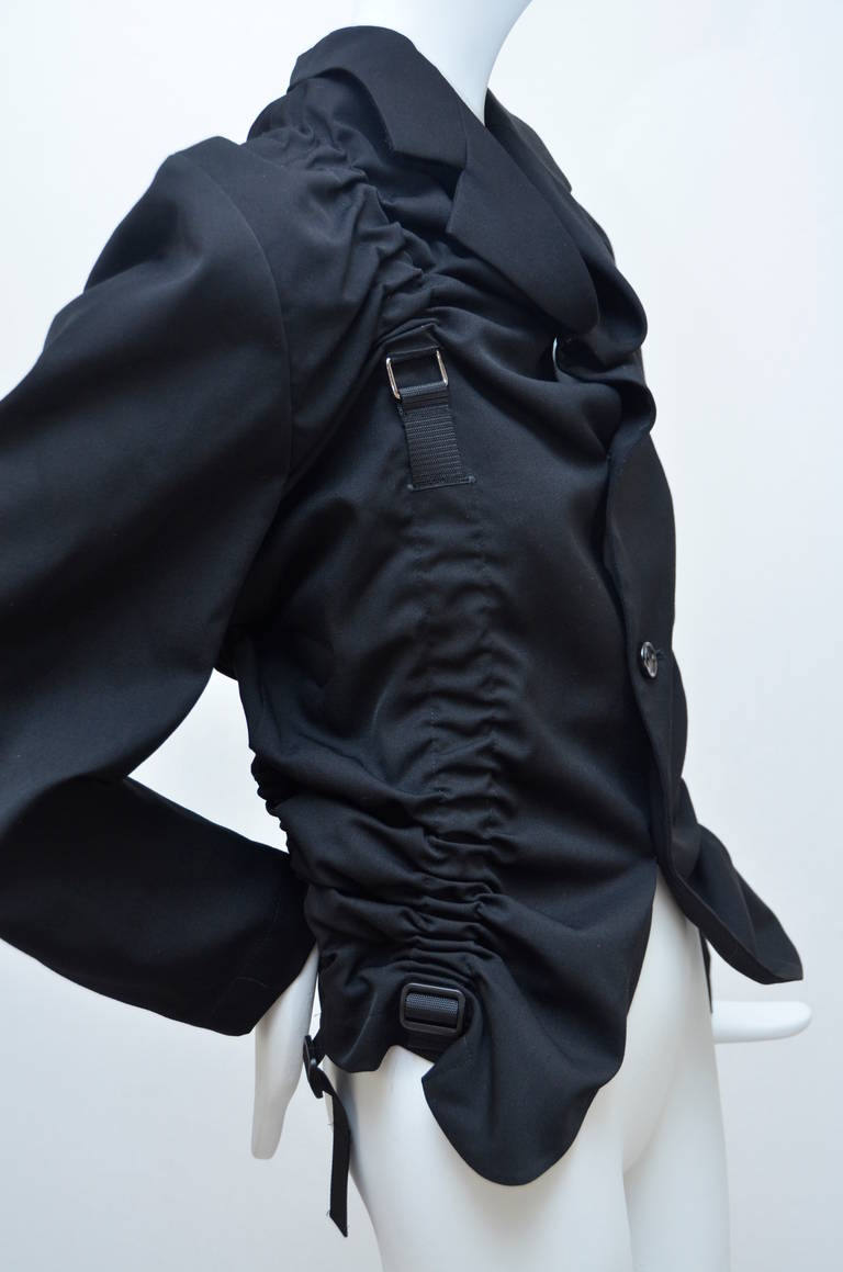 Black Junya Watanabe Comme Des Garcons  Parachute  Jacket New S  2002 For Sale