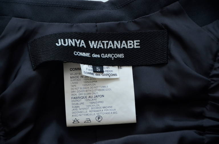 Women's Junya Watanabe Comme Des Garcons  Parachute  Jacket New S  2002 For Sale