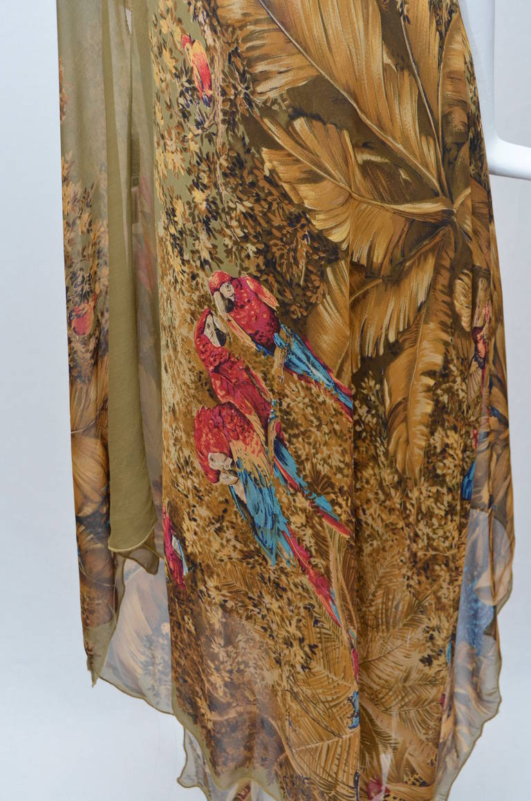 Early Gianni Versace Caftan Set Late  1970's 6
