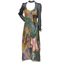 "Prada ""Fairy"" Collection Dress   Spring 2008 RTW 38 NEW"