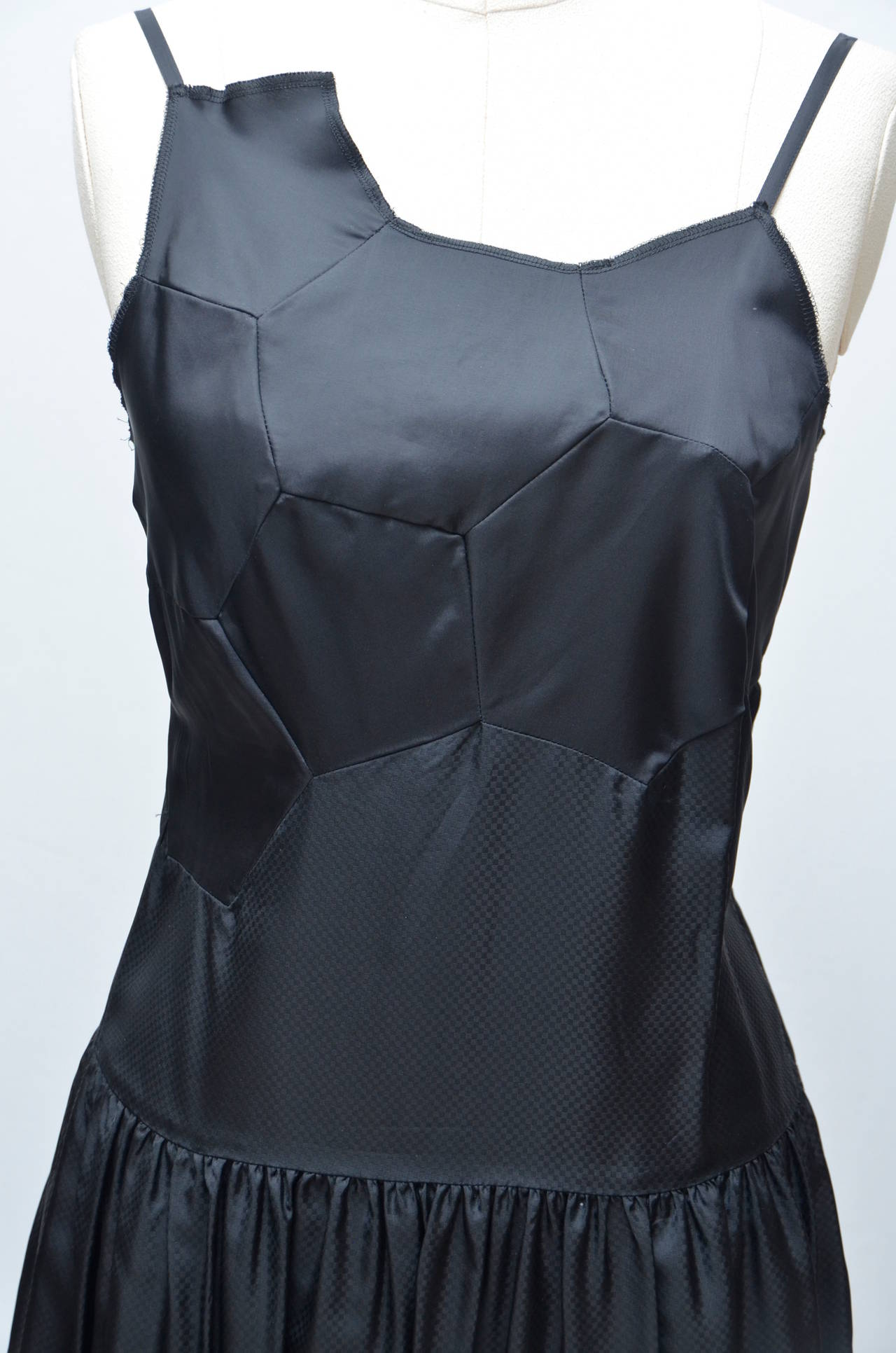 "Black Comme Des Garcons  ""Soccer"" Top Dress 2008 NEW For Sale"