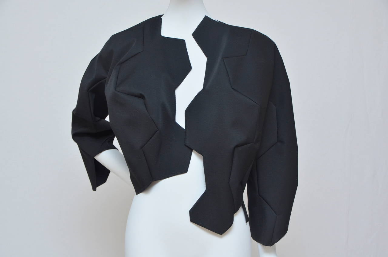 Comme Des Garcons Football Soccer Set Jacket and Skirt . Jacket is from the  runway but  skirt is not from runway..  Fabric contents:Main exterior 100% wool,interior 100% polyester. Attached fabric:100% synthetic leather. Jacket is  size S,
