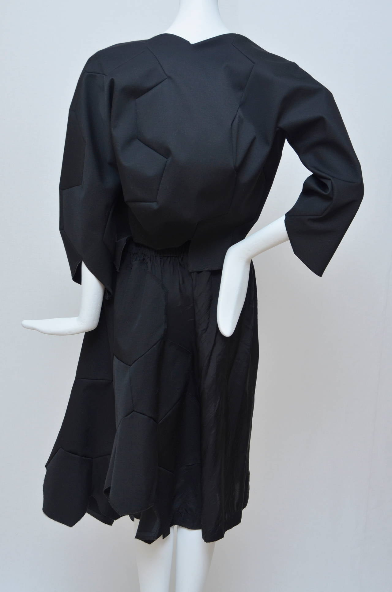 Comme Des Garcons Football Soccer Set Runway Jacket  and Skirt Ad 2008 For Sale 2