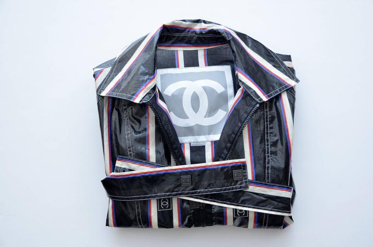 Women's Chanel 2007 Collection Raincoat   For Sale
