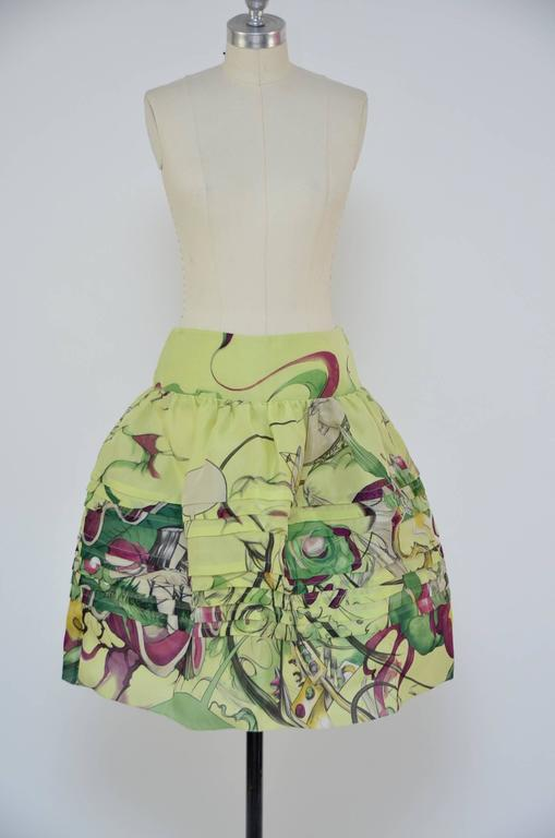 Prada Fairy 2008 Collection  Skirt  New Size 40 2