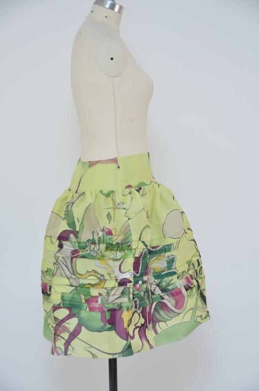Prada Fairy 2008 Collection  Skirt  New Size 40 4