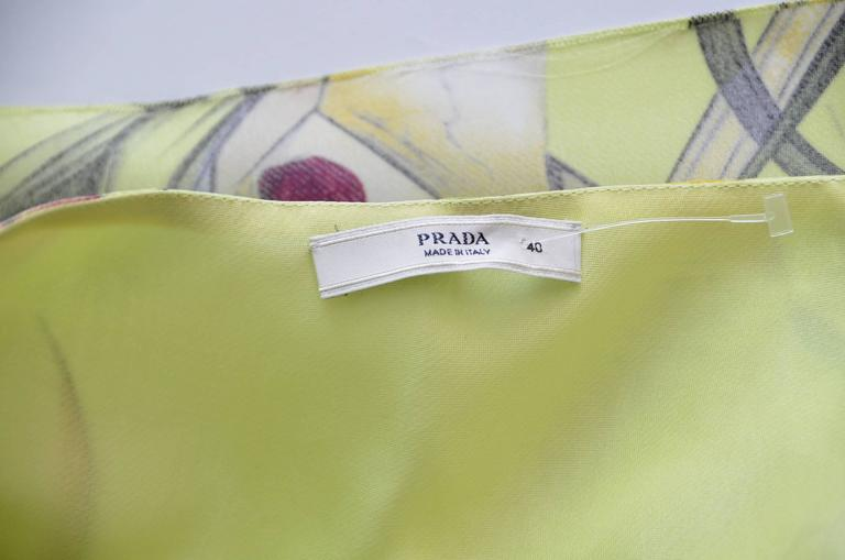 Prada Fairy 2008 Collection  Skirt  New Size 40 5