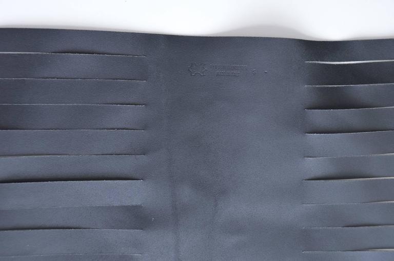 Ann Demeulemeester  Leather Corset 14  Buckle Belt Mint Size S For Sale 3