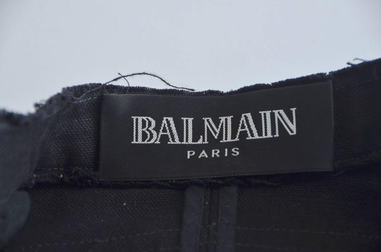 BALMAIN Jacket '09 Runway  Seen And Owned  By  Pop Icon  Michael Jackson  9