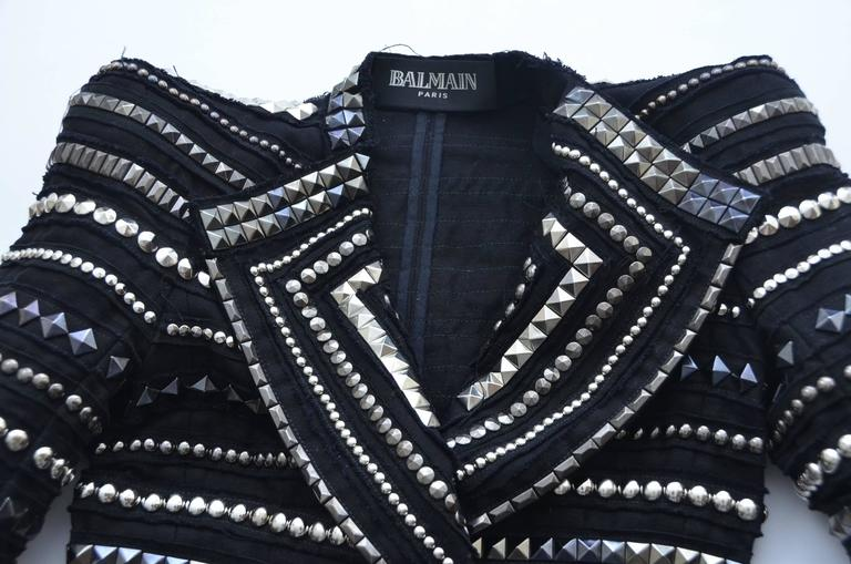 BALMAIN Jacket '09 Runway  Seen And Owned  By  Pop Icon  Michael Jackson  6