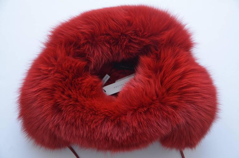 MARC JACOBS Fox Fur Hat Lil Wayne Wore In His Music Video For Sale 1