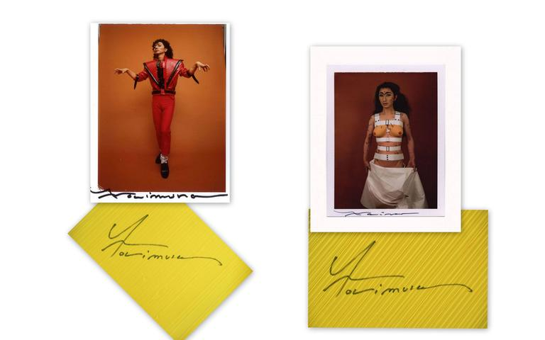 Autographed ISSEY MIYAKE Guest Artist Series No.1 Yasumasa Morimura  Top 1996 For Sale 5