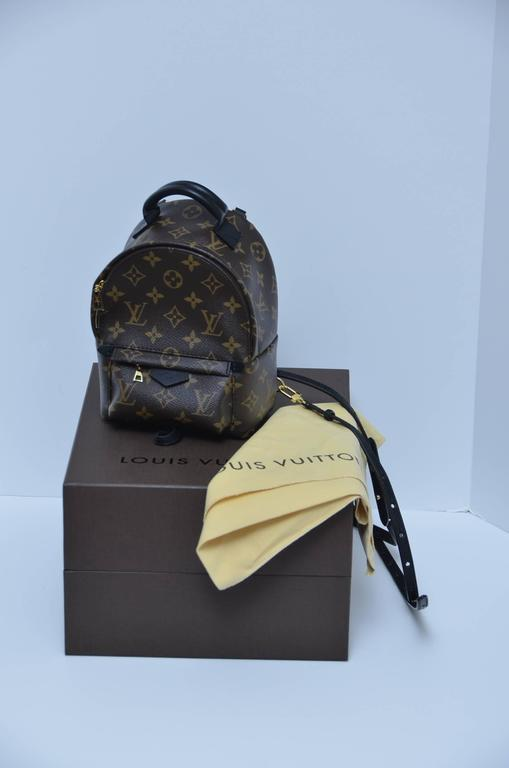 LV Louis Vuitton Palm Springs Backpack Mini SOLD OUT New  In New Never_worn Condition For Sale In Hollywood, FL