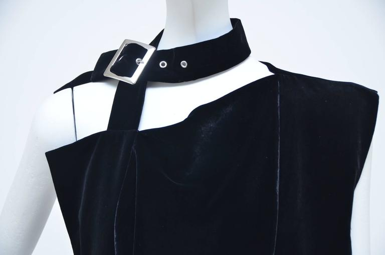 Women's Yohji Yamamoto Velvet  Dress/ Top  Runway 2004 New  For Sale