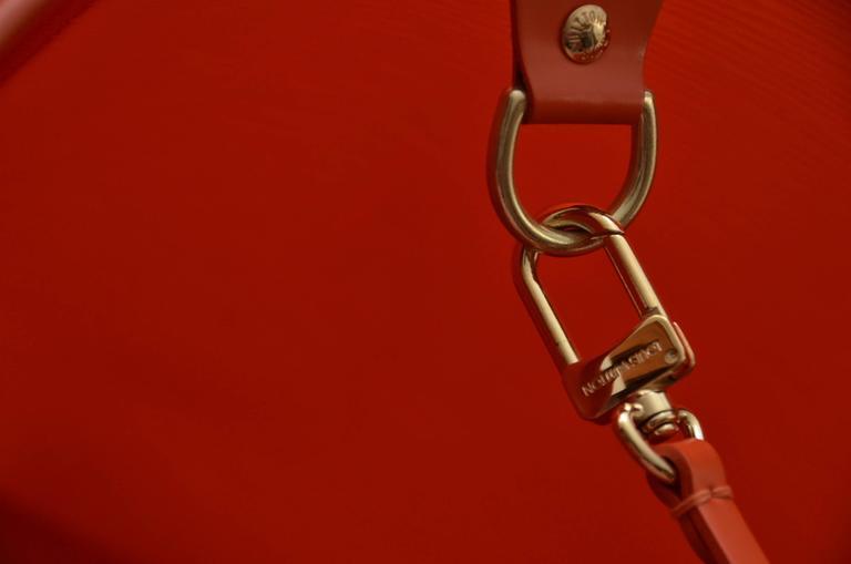 Red Louis Vuitton Orange  Beach  Bag  For Sale