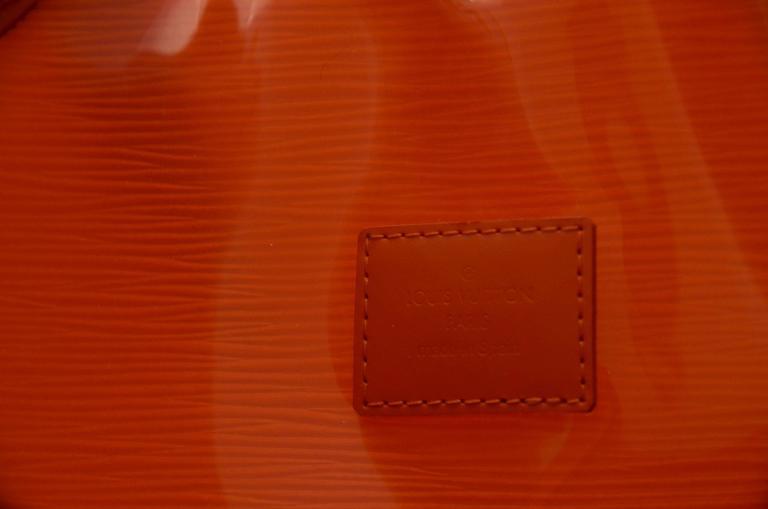Louis Vuitton Orange  Beach  Bag  For Sale 1