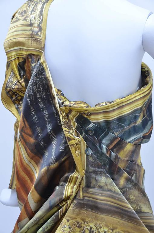 "Alexander McQueen Final Collection 2010 ""Angels and Demons"" Dress 40 For Sale 1"
