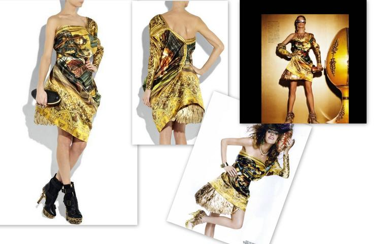 "Alexander McQueen Final Collection 2010 ""Angels and Demons"" Dress 40 For Sale 5"