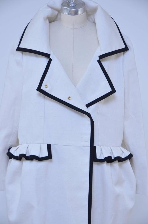 Women's or Men's Stefano Pilati For YSL Yves Saint Laurent Resort 2010 Coat  NEW For Sale