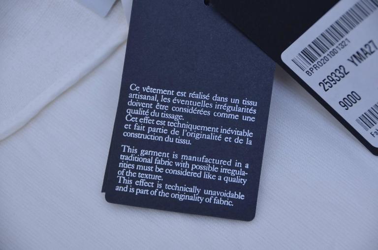 Stefano Pilati For YSL Yves Saint Laurent Resort 2010 Coat  NEW For Sale 2