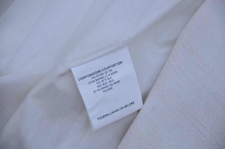 Stefano Pilati For YSL Yves Saint Laurent Resort 2010 Coat  NEW For Sale 3