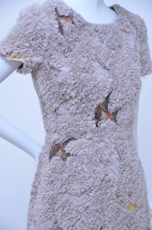 Erdem Chiffon Swallow Dress Runway Spring 2010  NEW  US2 5