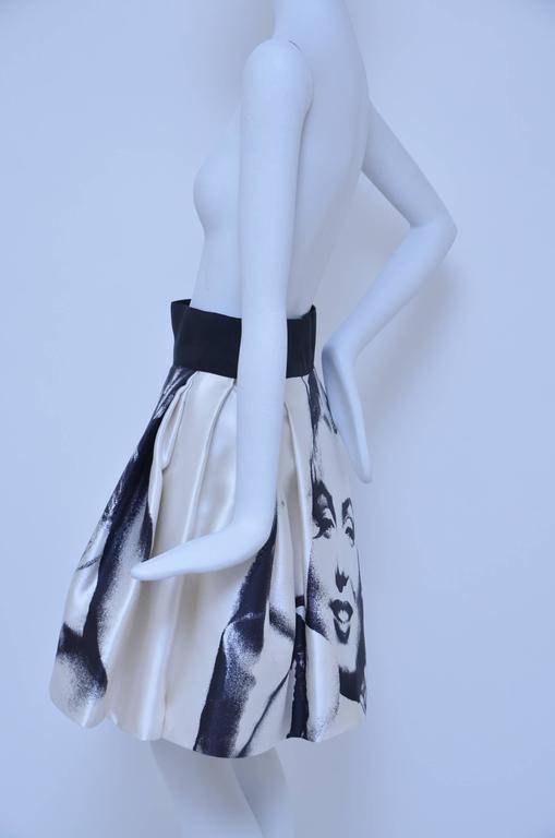 Marilyn Monroe Print  Dolce & Gabbana  Skirt  New 38 3