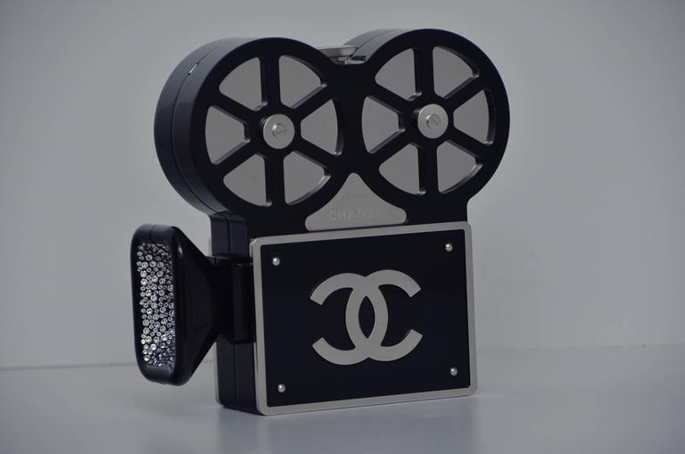 CHANEL Rome 2016 Movie Camera Minaudière Handbag Seen On Mira Duma NEW 2