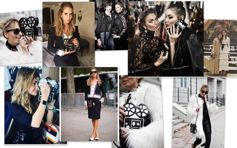 CHANEL Rome 2016 Movie Camera Minaudière Handbag Limited Edition  NEW For Sale 3