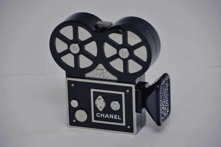 Women's or Men's CHANEL Rome 2016 Movie Camera Minaudière Handbag Limited Edition  NEW