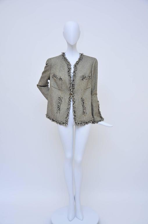 Chanel runway 2007 tweed jacket.