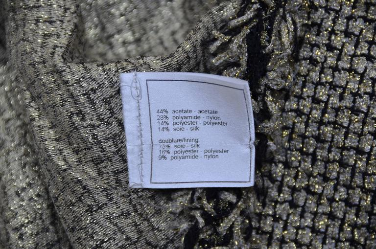 CHANEL Runway 2007  Tweed Jacket   Mint For Sale 2