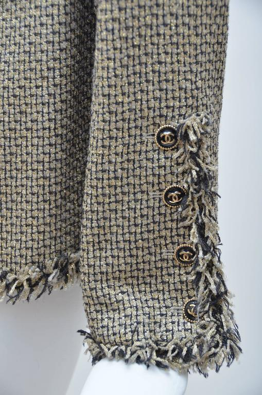 CHANEL Runway 2007  Tweed Jacket   Mint For Sale 3