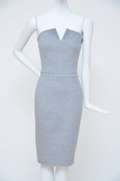 Yves Saint Laurent Strapless Dress, Spring 2008   In New Condition For Sale In Hollywood, FL
