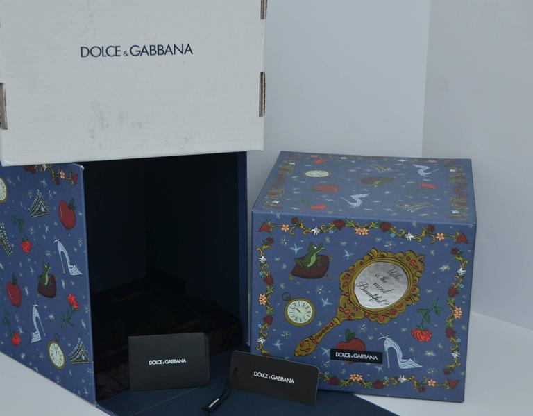 Dolce & Gabbana Cinderella Carriage Handbag Minaudière Limited   Only 40 Made 8