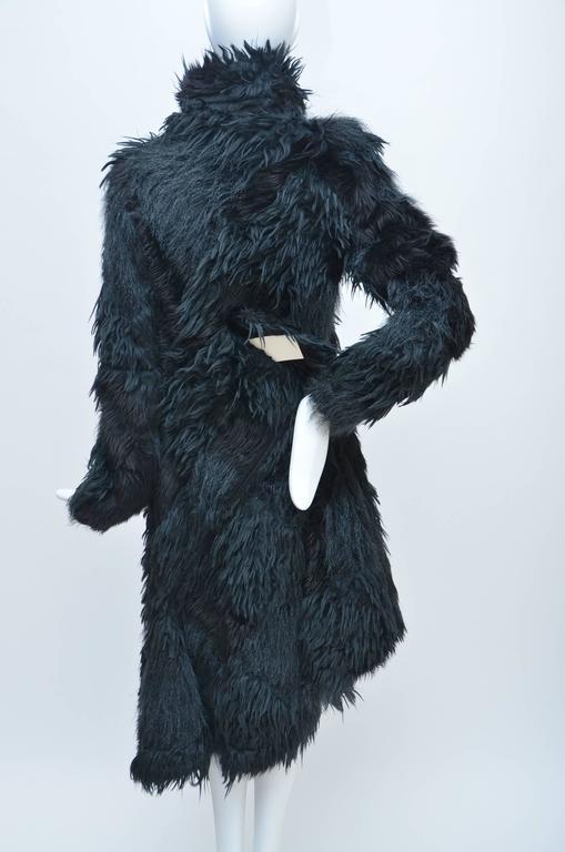 Women's or Men's Comme Des Garcons  Faux  Fur Coat AD '02  Metropolitan  Museum NY  Mint For Sale