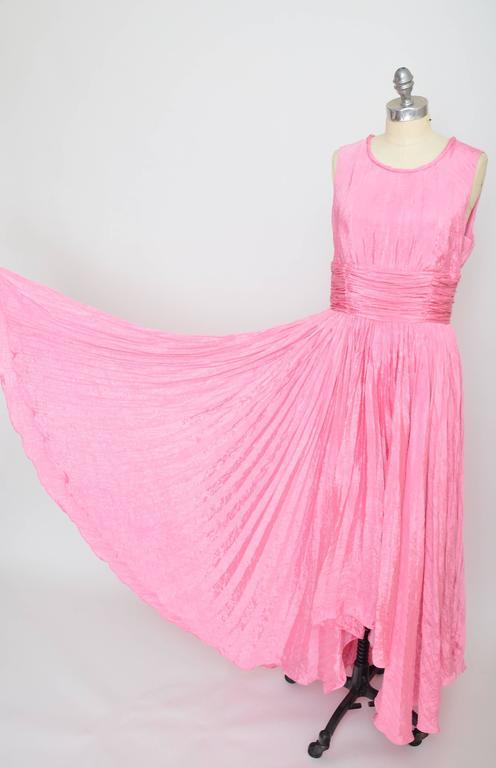 Oscar De La Renta Pink Dress Seen On Sarah Jessica Parker  2