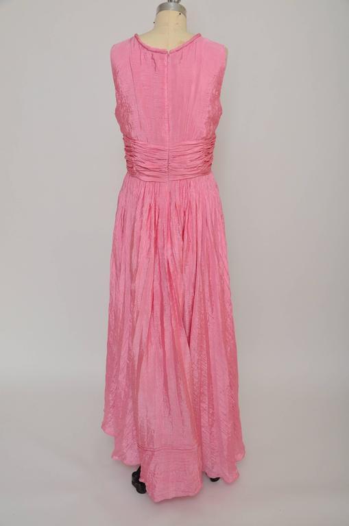 Oscar De La Renta Pink Dress Seen On Sarah Jessica Parker  3