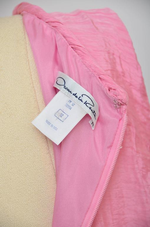 Oscar De La Renta Pink Dress Seen On Sarah Jessica Parker  5