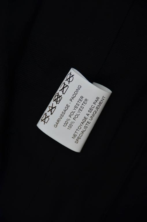 BALMAIN Black Quilted Techno Jacket Similar Seen On Beyonce And Nicki Minaj 40 For Sale 1