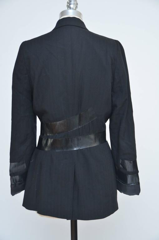Black Maison Martin Margiela Artisanal Fall '09 Duct Tape Jacket  40    Mint For Sale
