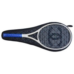 CHANEL Tennis Racket Ivory/Blue  NEW With Tags