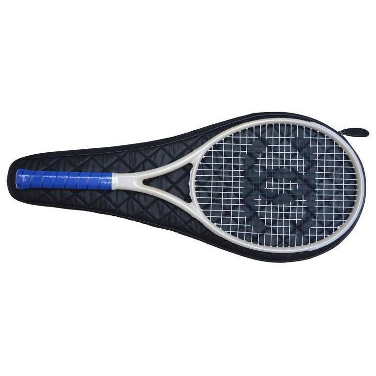 Chanel New Ivory and Blue Tennis Racket